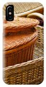 Bamboo Baskets IPhone Case