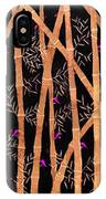 Bamboo Forest At Night IPhone Case