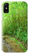Bamboo Forest Trail IPhone Case