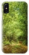 Bamboo Hike IPhone Case