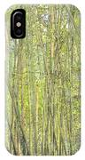 Bamboo In San Diego Zoo IPhone Case
