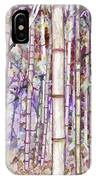 Bamboo Texture IPhone Case
