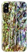 Bamboo Trees In Park IPhone Case