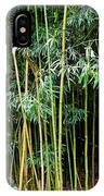 Bamboo Wind Chimes  Waimoku Falls Trail  Hana  Maui Hawaii IPhone Case