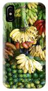 Banana Display. IPhone Case