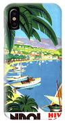 Bandol, French Riviera, Boats On Port IPhone Case