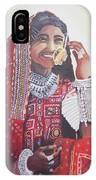 Banjaran With Traditional Attire IPhone Case