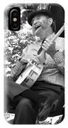 Banjo Man IPhone Case