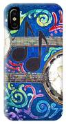Banjos - Bordered IPhone Case