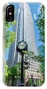 Bank Of America Corporate Center In Charlotte, Nc IPhone Case