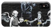 Banksy - Failure To Communicate IPhone Case