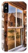 Bannack Reflection In The Past IPhone Case