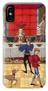 Banquet, 15th Century IPhone Case