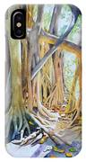 Banyan Shadow And Light IPhone Case