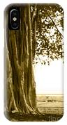 Banyan Surfer - Triptych  Part 2 Of 3 IPhone Case