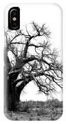 Baobab Landscape IPhone Case