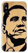 Barack Obama Original Coffee Painting IPhone Case