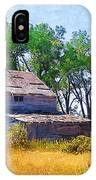 Barber Homestead IPhone Case
