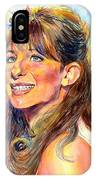 Barbra Streisand Young Portrait IPhone Case