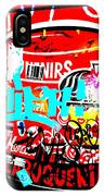 Barcelona Street Graffiti IPhone Case