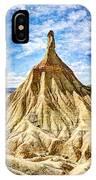 Bardenas Desert Last Man Standing - Vintage Version IPhone Case