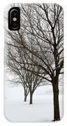 Bare Winter Trees IPhone X Case
