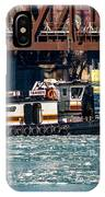Barge Work With The Tug Tanner IPhone Case