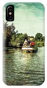 10946 Cruising On The Grand Union Canal IPhone Case