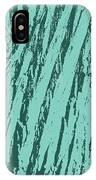 Bark Texture Turquoise IPhone Case