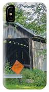 Barkhurst Covered Bridge  IPhone Case