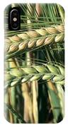 Barley, Green Stage IPhone Case