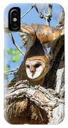 Barn Owl Owlet Stretches High IPhone Case