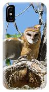 Barn Owl Owlet Stretches IPhone Case
