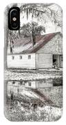 Barn Reflection IPhone Case