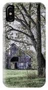 Barn Underneath The Tree IPhone Case