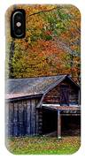 Barn Woodford Mountain IPhone Case