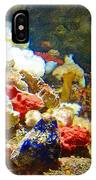 Barnacles And Sea Urchin Among Invertebrates In Monterey Aquarium-california  IPhone Case