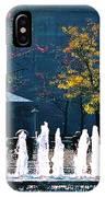 Barney Allis Plaza-kansas City IPhone Case