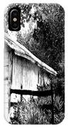 Barns In Black And White IPhone Case