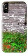 Barnside Flowers IPhone Case