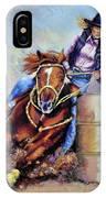 Barrel Rider IPhone Case
