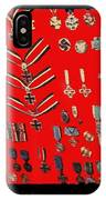 Barry Sadlers Nazi Medals Collection IPhone Case