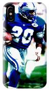 Barry Sanders On The Move IPhone Case