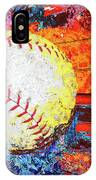 Baseball Art Version 6 IPhone Case