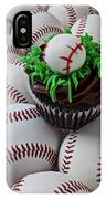 Baseball Cupcake IPhone Case