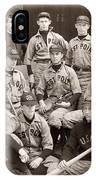 Baseball: West Point, 1896 IPhone Case