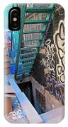 Basement Apartment In Graffiti Alley IPhone Case