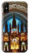 Notre - Dame Basilica - Montreal IPhone Case