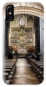 Basilica Of San Isidoro De Leon - Interior IPhone Case