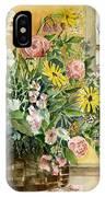 Basket Bouquet IPhone Case